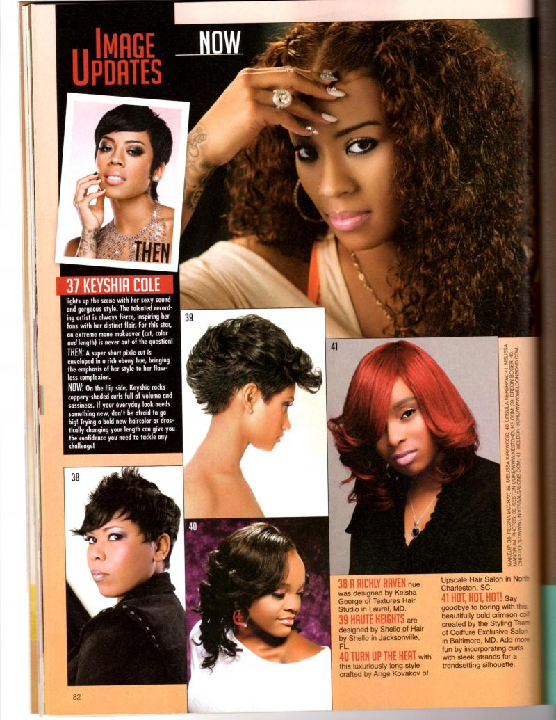 September/October issue of Sophisticates Black Hair Magazine