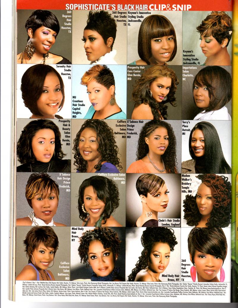Sophisticated Black Hair Magazine Pictures | Short Hairstyle 2013