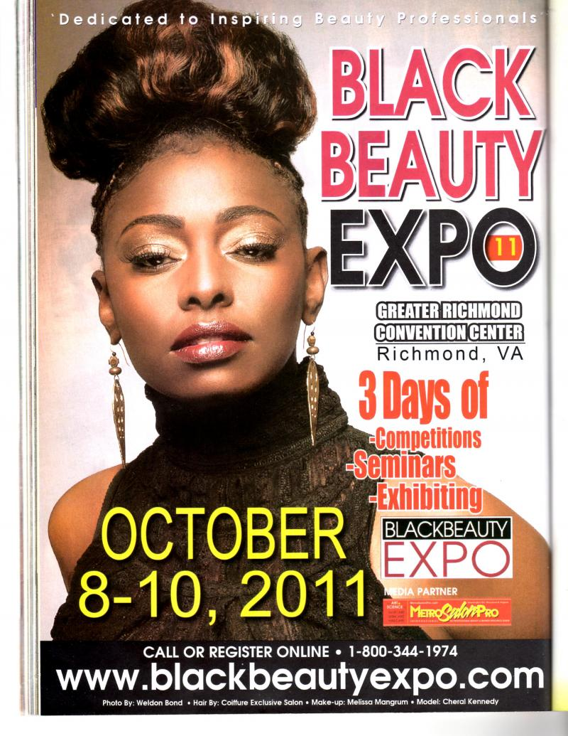 Ad in September Issue of Hype Hair Magazine