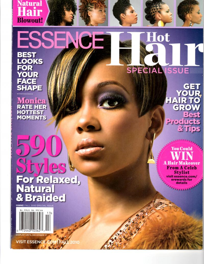 Essence Magazine First Hair Issue